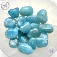 Blue Aquamarine Tumble Stone